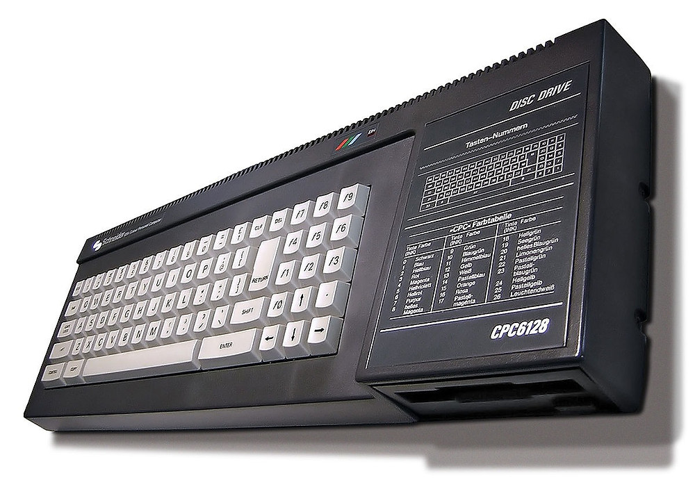 The CPC 6128. Note it says 'Schneider' not Amstrad.