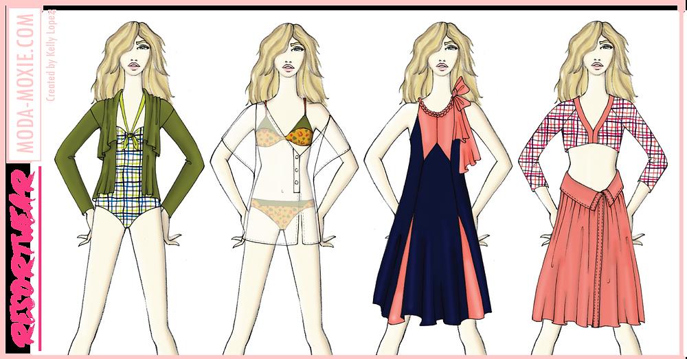 fashion portfolio illustrations