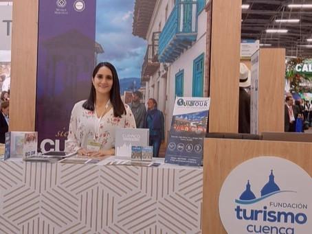 Cuenca se promociona internacionalmente en la feria ANATO 2020 en Colombia.