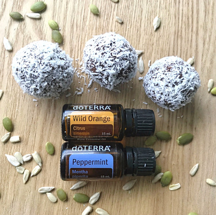 Oil Infused Bliss Balls