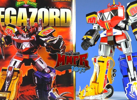 MMPR: Megazord GX-72 Soul of Chogokin