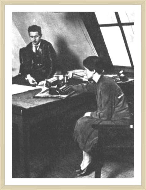 20대 브레히트와 하우프트만 (베를린, 1927)