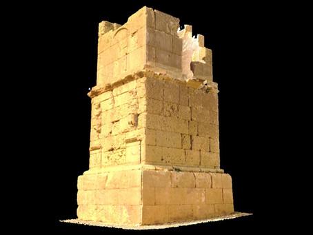 Trabajos de escaneo y digitalización 3D de Torre Romana de Los Escipiones
