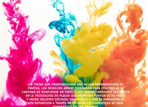 Tintas y Rodillos Anilox en la Impresión Flexográfica.
