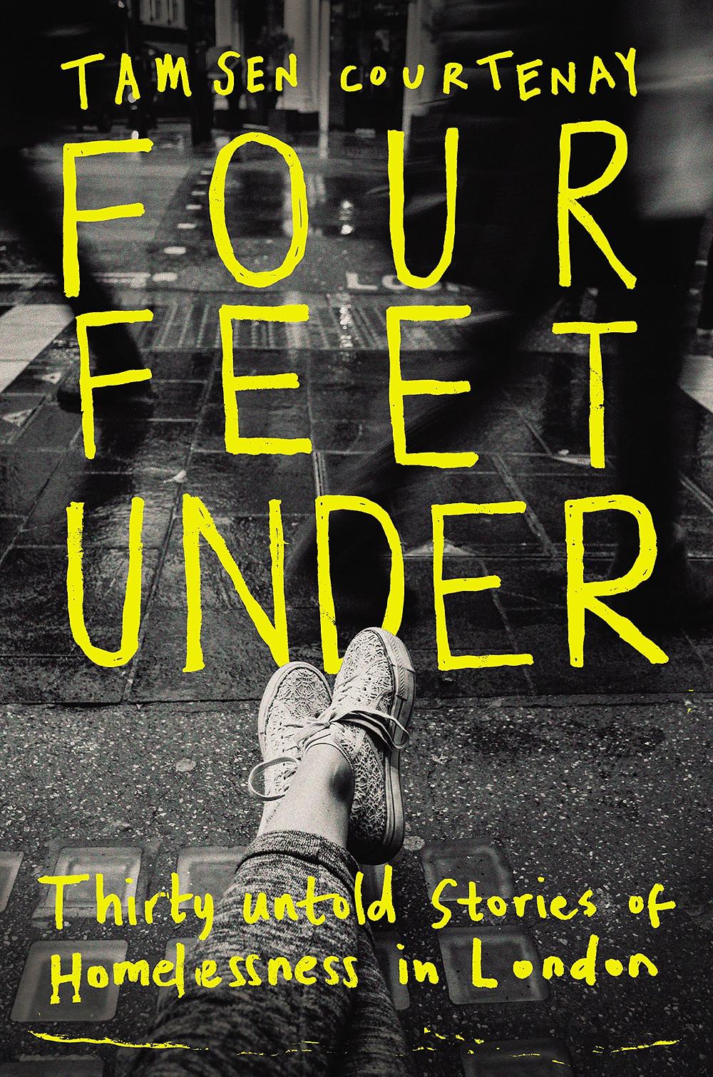 Four feet under by Tamsen Courtenay