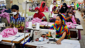 Coronavirus measures give Bangladeshi workers for global clothing chains a stark choice: disease