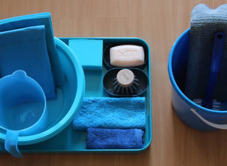 Farbkoordinierung - Fotos neuer Garnituren fürs Montessori-Kinderhaus