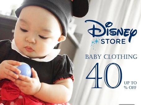 寶寶超萌變身。Disney童裝服飾六折起