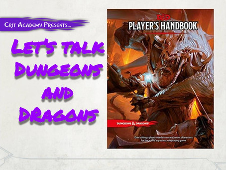 Let's Talk Dungeons and Dragons
