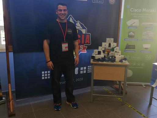 Κύβος Ρούμπικ: Διαγωνισμός στο Κολέγιο Τέρρα Σάντα