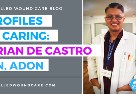 PROFILES IN CARING: BRIAN DE CASTRO RN, ADON (Part One)