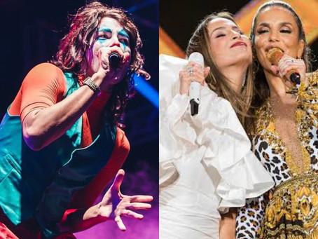 """Jaloo ironiza Ivete Sangalo e Claudia Leitte e fãs rebatem: """"passando vergonha"""""""