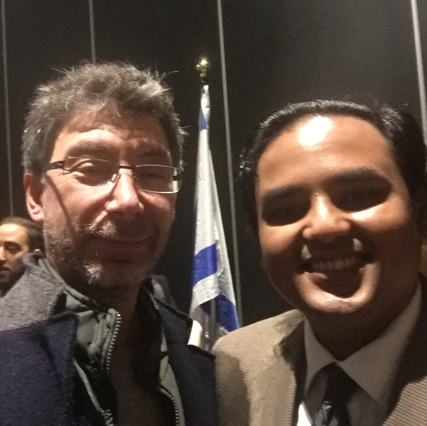 With Rezwan Ovo-Haq