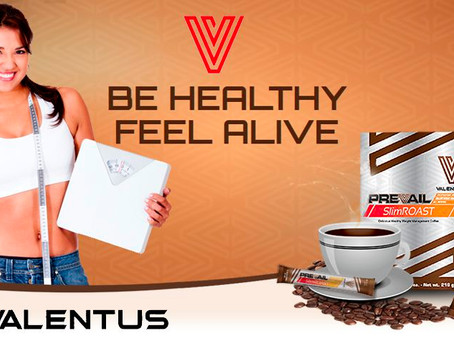 Treat Yourself to Gourmet All Natural Valentus Slimroast Coffee