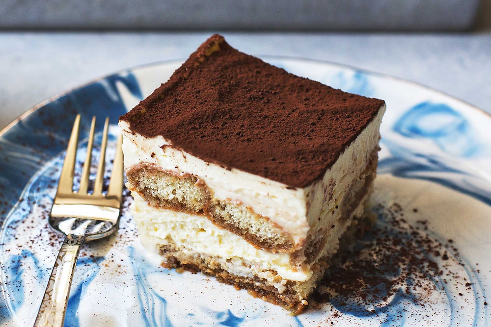 Traditional Tiramisu Desert