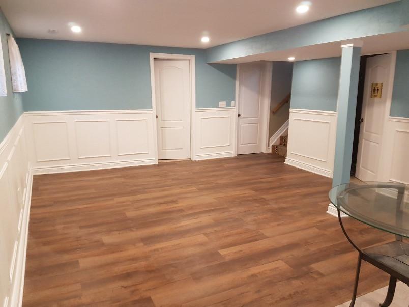 project complete - new rec room