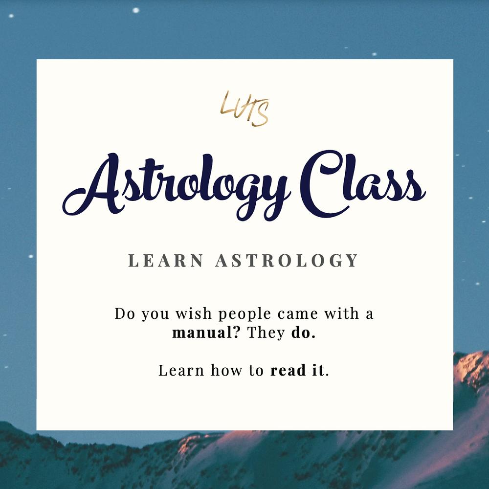 LUTS SCHOOL Astrology