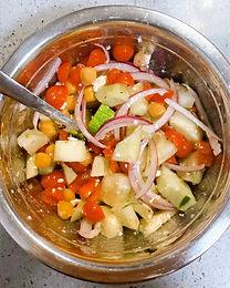 No Cooking Required: Mediterranean Chickpea Salad