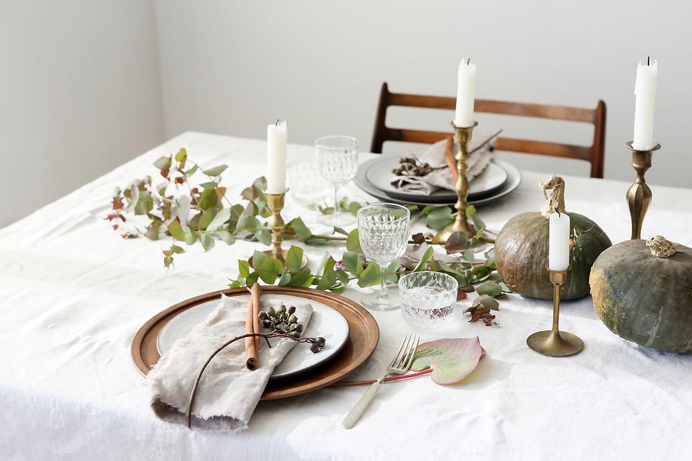 Zero Waste Holiday Table Setting | Design w Care | Eyeswoon