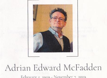Adrian McFadden - such a great loss