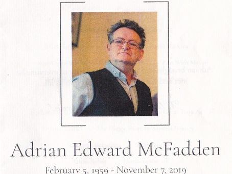 Adrian McFadden - such a great loss