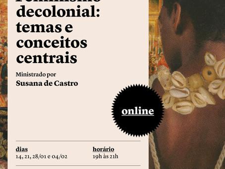 Curso Feminismo Decolonial: Temas e conceitos centrais