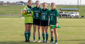 Ladywaves honor their four departing seniors