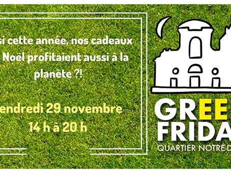 Fini le Black Friday, place au Green Friday !