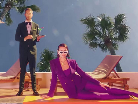 Calvin Harris Featuring Dua Lipa - One Kiss (Video Oficial)