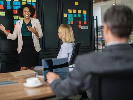 Participação feminina no mundo dos negócios