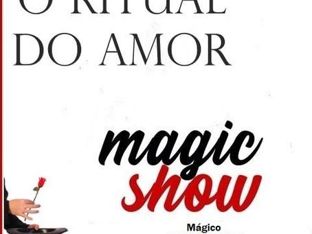 """""""O Ritual do Amor"""" é a mais recente criação mágica de Rui Ventura."""