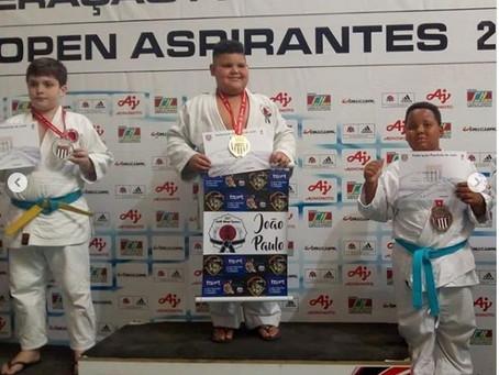 3 Judocas na final do Paulista!
