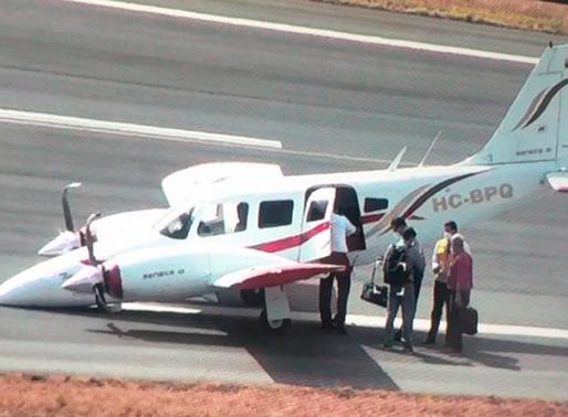 Pista del Aeropuerto de Guayaquil cerrada debido a incidente de aeronave