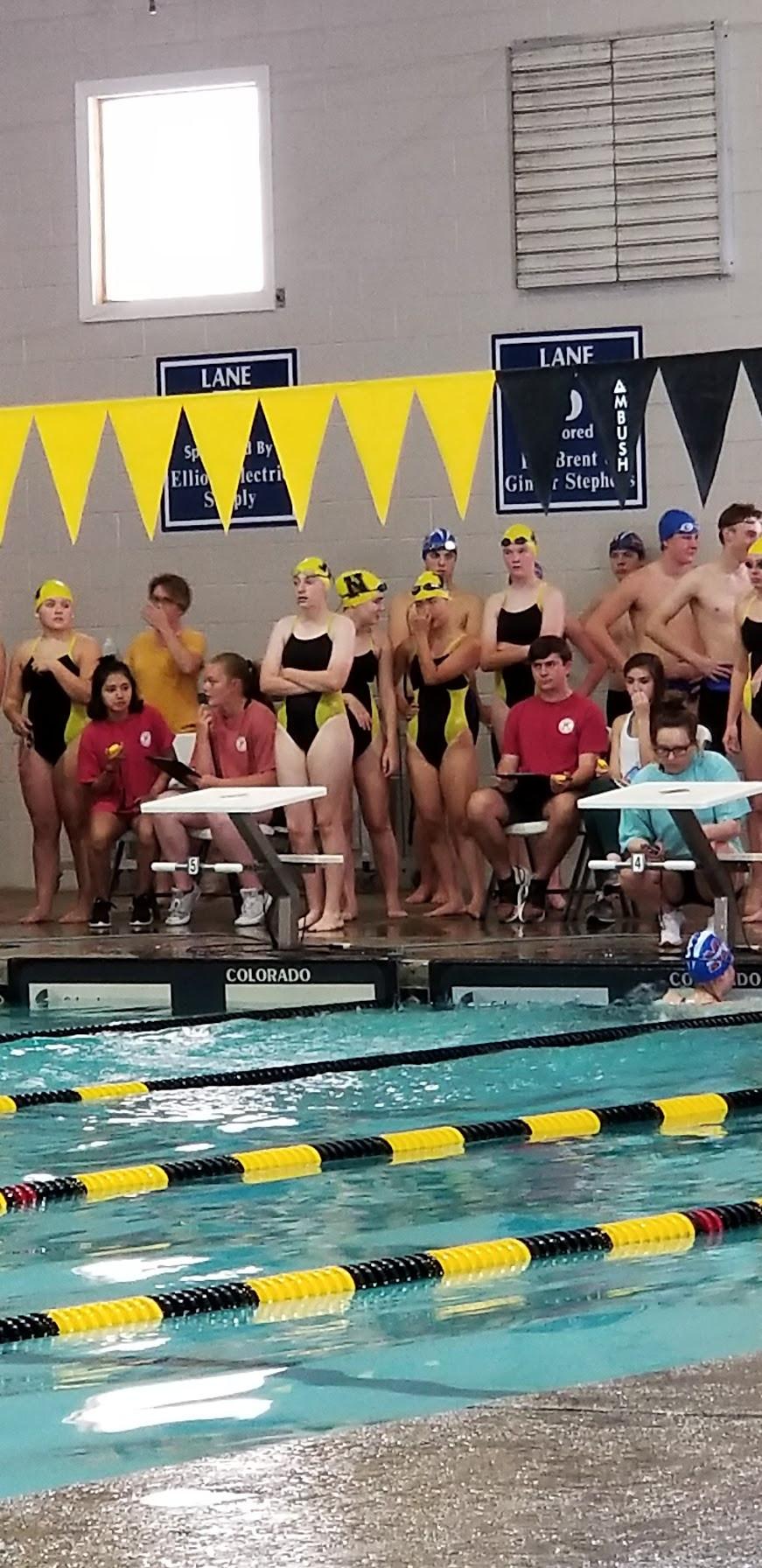 Swim Team Enjoys Traditions Record Of