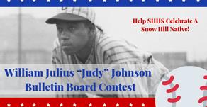 "William Julius ""Judy"" Johnson  Bulletin Board Contest"