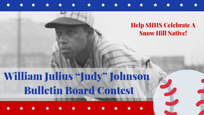"William Julius ""Judy"" Johnson  Bulletin Board Contest"