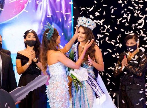 Navila Dieb es la nueva reina de Guayaquil 2020