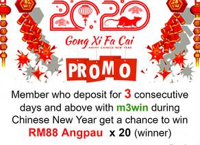 GONG XI FA CAI promotion!
