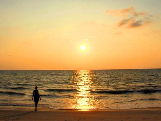 Cherai Beach au Kerala (Inde)