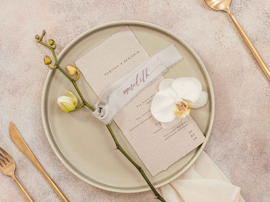RECYCLE PAPER & RIBBONS TO WARM-WELCOME YOUR GUESTS