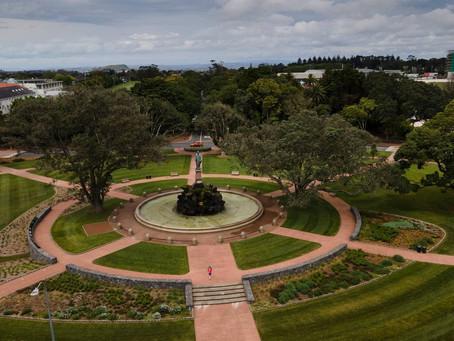 Revived Sir John Logan Campbell memorial fountain reopens