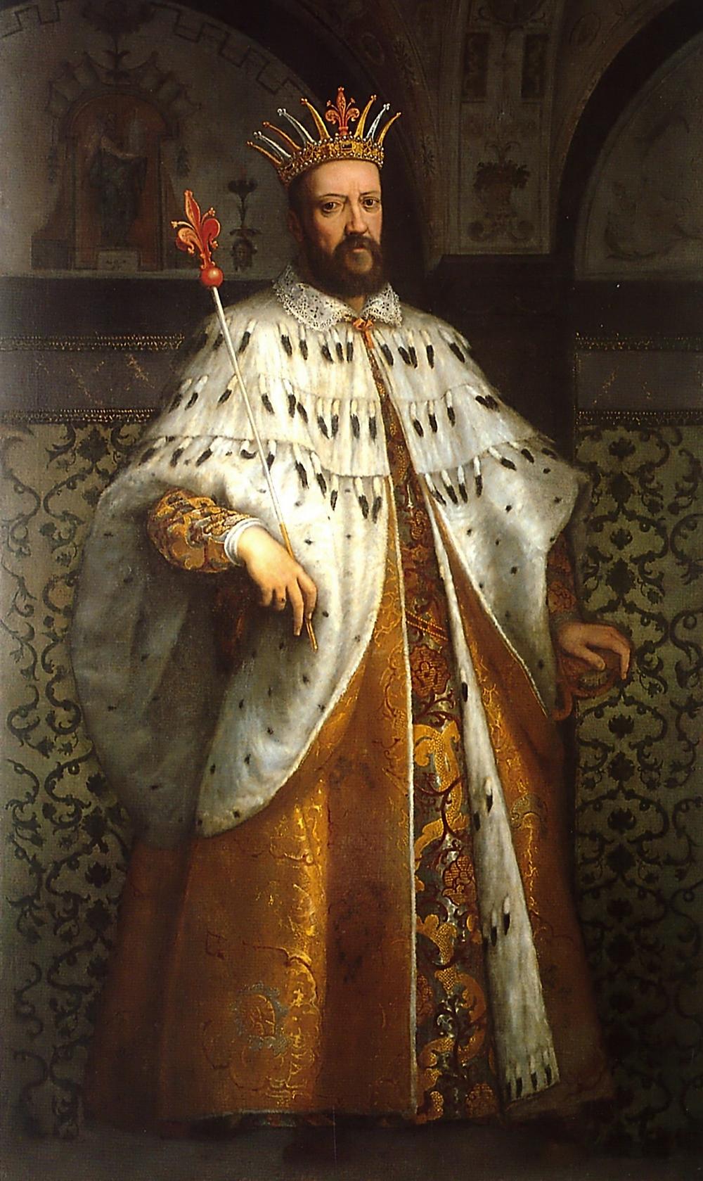 Cigoli's Portrait of Cosimo I de' Medici -- in the Palazzo Medici-Riccardi