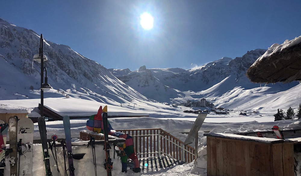 Tignes Le Lac, 8th March 2020