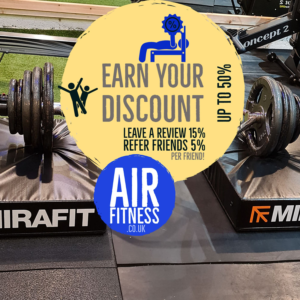 Earned discounts with Air Fitness  Ballymena