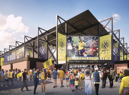 Nashville Soccer Stadium Set To Open in 2022