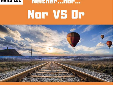 Neither ...nor
