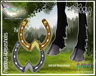::Whymsikal:: Precious Horse Shoes (Unicorn)
