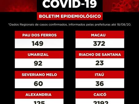 Boletim Epidemiológico Regional - RN 18/08/20