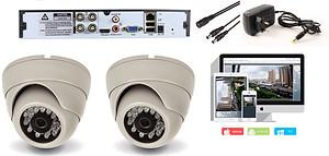 Комплект AHD видеонаблюдения на 2 камеры видеонаблюдения