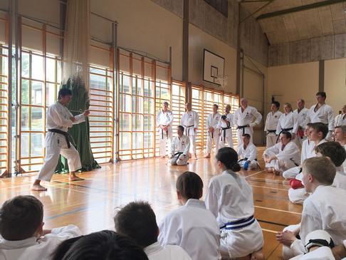 Gasshuku with Tatsuya Naka Sensei